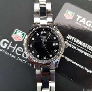 Tag Heuer Carrera Diamond Ladies Watch Authentic