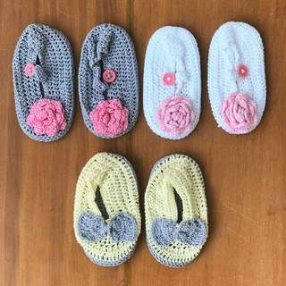 Crochet Baby Girl Shoes Take All 10cm