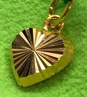 Gold 916 - Heart Shaped Locket ❤️