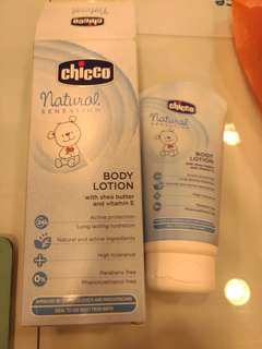 Chicco baby body lotion