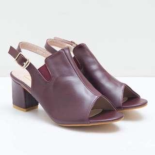 Berrybenka maroon heels