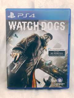 (PS4) Watchdogs
