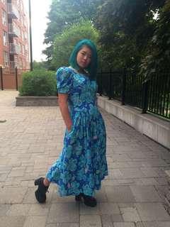 Sz 10 Vintage Dress