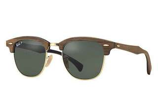 Ray Ban Clubmaster Wood 10k negotiable