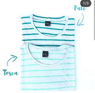Outfix Tee Irlandia Pale and Tosca