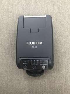 Authentic Fujifilm EF-20 Shoe Mount Flash