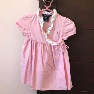 Preloved Authentic/Original Ralph Lauren Baby Dress
