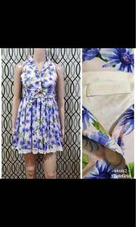 liz lisa blue floral dress