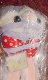 🚚 【全新】可愛史黛拉兔(紅色點點蝴蝶結) 票卡零錢包 代友售 約25×約12cm 迪士尼16/20