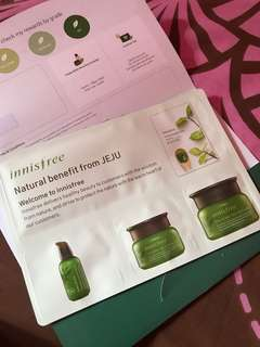 Innisfree green tea kit