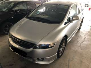 Honda Odyssey ODC RB2 2.4A Sunroof