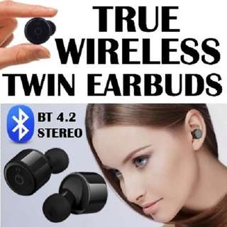 X1T True Wireless Bluetooth Twin Mini TWS Earbuds Earpiece