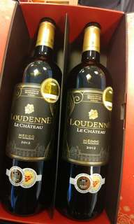 (Red wine 紅酒)Chateau Loudenne Medoc 2012 Twin set with Gift Box