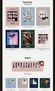 (FREE GIFTS AVAILABLE!) WANNA ONE UNDIVIDED ALBUMS