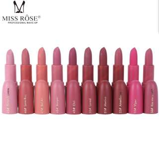 Miss rose matte lipstick
