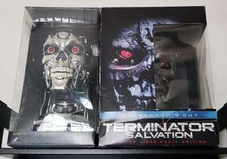Terminator Set Bust And Collectibles Ultimate Collection Bluray