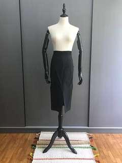 Zara Black Midi Skirt