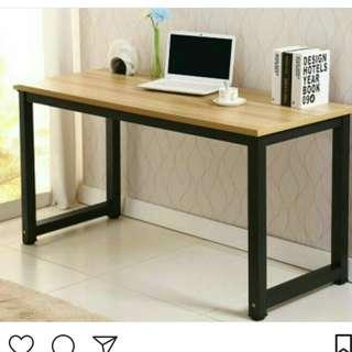 Meja kerja/meja kantor/meja belajar modern