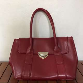 Red Marithe Francois Girbaud Bag
