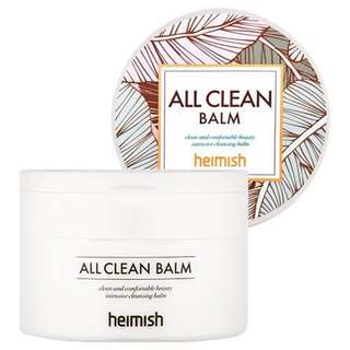 $16.90 LATEST Heimish All Clean Balm 120ml Cleanser Cleansing Balm