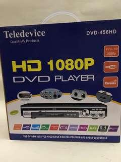 Teledevice DVD-456HD DVD播放機