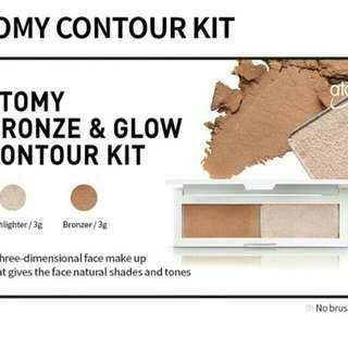 🚚 Atomy bronze & glow contour kit