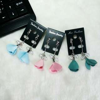 Ready !!! Anting Bunga Mini 3 warna