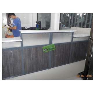 RD-0788 CUSTOMIZE RECEPTION COUNTER
