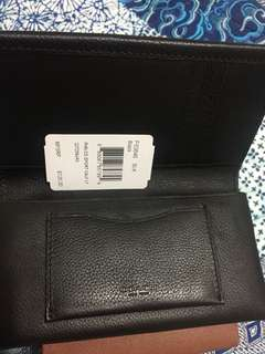 Coach wallet black - new