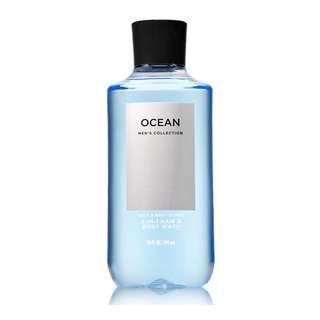 Bath and Body Works Ocean 2 in 1 Hair + Body Wash 295ml