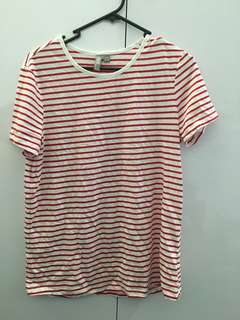 Asos Red Striped Shirt