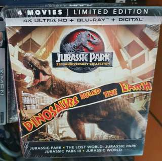 LOOKING FOR: Jurassic Park 4K blu ray 25th Anniversary Collection