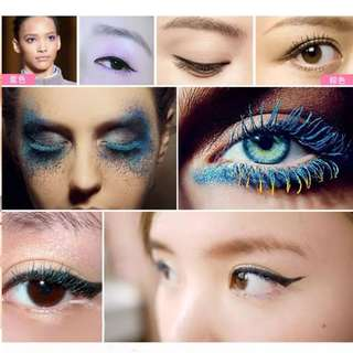 (PO)colored volume mascara..