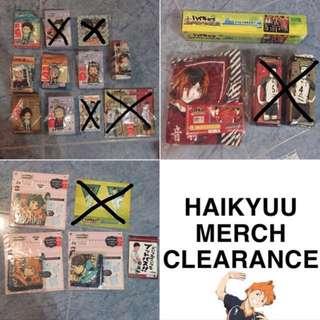 Haikyu!! Merchandise Clearance