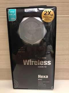 原裝行貨Romoss Hexa Qi Fast Charge Wireless Charging Pad 無線充電器
