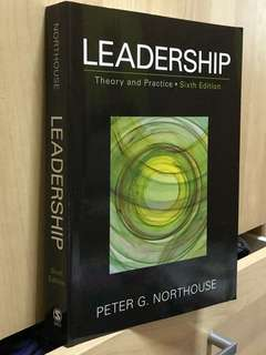 Leadership: Theory and Practicr (6th Edition)