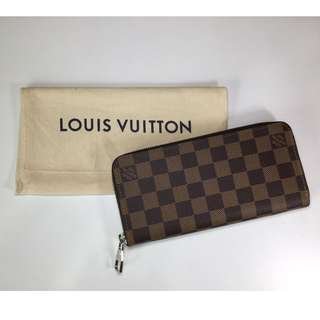LOUIS VUITTON N61207 ZIPPER WALLET VERTICAL