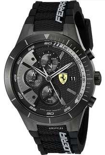 [NEW] Ferrari Men's 0830262 REDREV EVO Analog watch