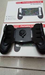 New stock portable game grip