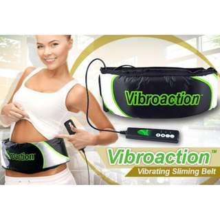 Gogo Vibroaction Slimming Belt - Sabuk Getar Pelangsing - Hitam
