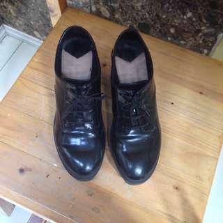 STRADIVARIUS BLACK ANKLE BOOTS 39 #mausupreme