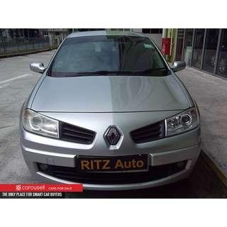 Renault Megane 1.6A 5DR