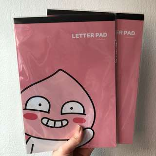 Apeach KAKAO FRIENDS Letter Pad