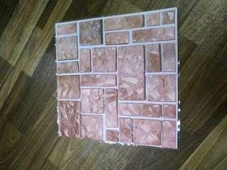 Wall Decor (Brick stone DIY) Self adhesive