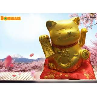 Maneki-Neko Lucky Cat 10' - GOLD (SW257)