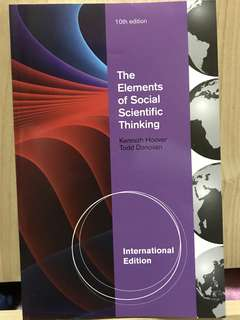 The Elements of Social Scientific Thinking by Kenneth Hoover & Todd Donovan