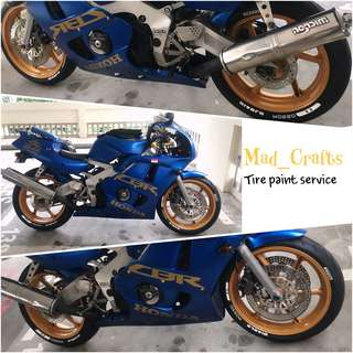 Simple Tire Paint Service