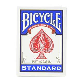 Magic Geek Bicycle Svengali Deck - Choose Your Color (Blue, 1 Pack)
