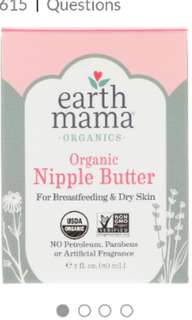 Earth Mama Nipple Balm
