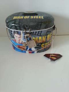 Super man coin box
